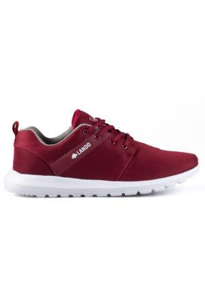 Sneakers LANDO. Цвет: burgund