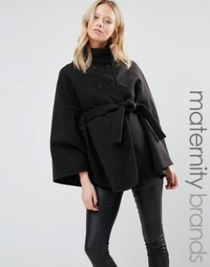 Mama.licious Куртка-накидка для беременных Mamalicous. Цвет: черный