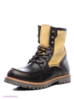 Ботинки Shoe the Bear. Цвет: темно-коричневый