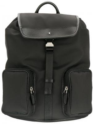Маленький рюкзак Jet Montblanc. Цвет: чёрный