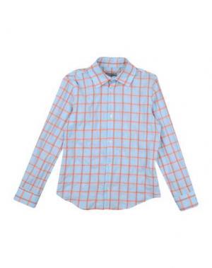 Pубашка GRANT GARÇON. Цвет: небесно-голубой