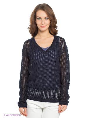 Пуловер LERROS. Цвет: темно-синий