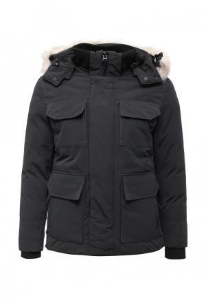Куртка утепленная Just Key. Цвет: серый