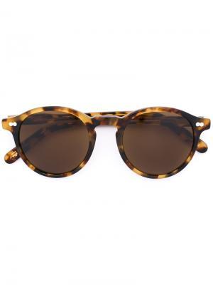 Солнцезащитные очки Miltzen Moscot. Цвет: телесный