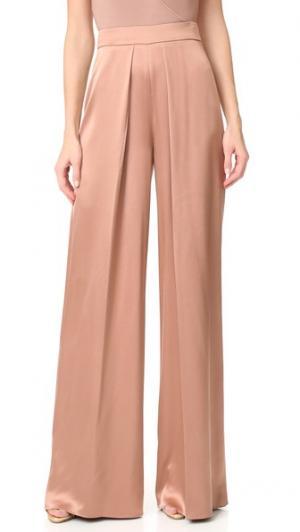 Широкие брюки с высокой талией Cushnie Et Ochs. Цвет: дюна