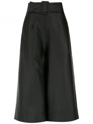 Belted culottes Osklen. Цвет: чёрный
