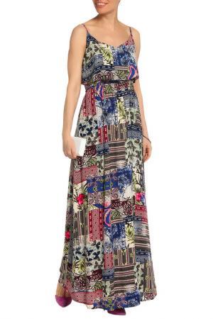 Платье Mix Ray. Цвет: синий