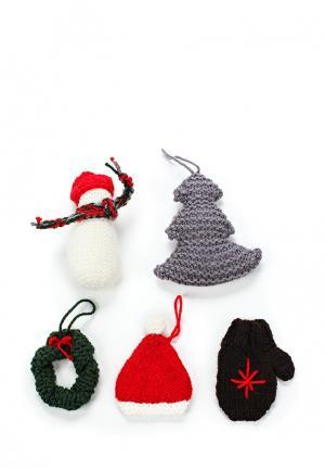 Набор сувенирный Knitted Kiss. Цвет: разноцветный