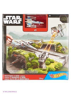 Игровой набор для звездолётов серии Звездные войны Hot Wheels. Цвет: белый