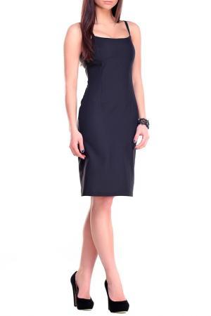 Платье REBECCA TATTI. Цвет: черный