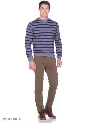 Пуловер Boston Brothers. Цвет: серый, темно-синий