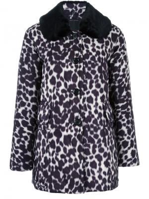 Пальто с леопардовым принтом Marc Jacobs. Цвет: телесный