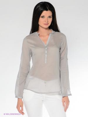 Блузка MILANO ITALY. Цвет: серый