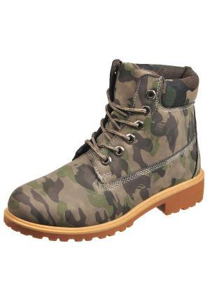 Ботинки TopLand. Цвет: коричневый