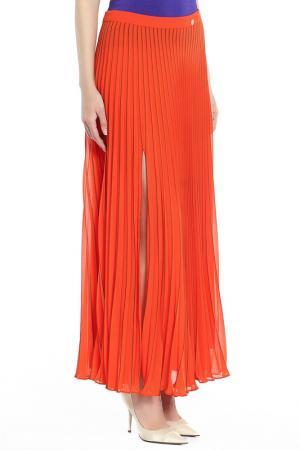 Юбка Versace Collection. Цвет: оранжевый
