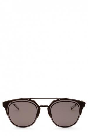 Солнцезащитные очки Dior. Цвет: бесцветный