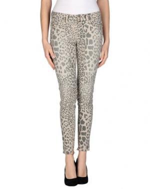 Джинсовые брюки SLY010. Цвет: светло-серый