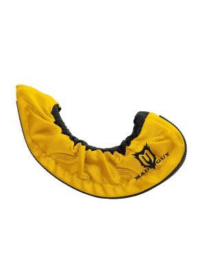 Чехлы для коньков Dry&Go MAD GUY. Цвет: желтый