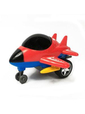 Самолет Азбука Тойс. Цвет: красный