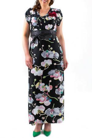 Платье Leshar. Цвет: черный