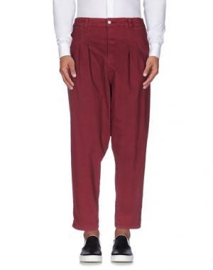 Повседневные брюки CATCH22. Цвет: пурпурный