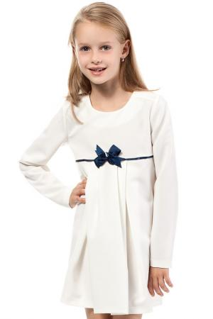 Платье KIDIN. Цвет: белый