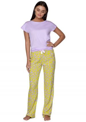 Комплект: блузка + брюки Infinity Lingerie. Цвет: разноцветный (цветной)