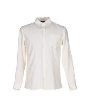 Pубашка 26.7 TWENTYSIXSEVEN. Цвет: слоновая кость