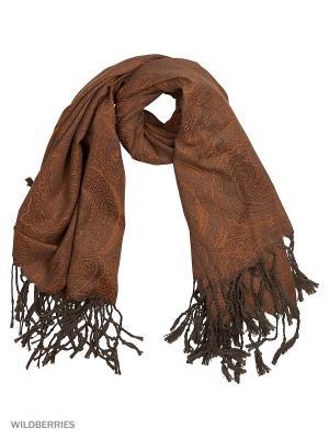 Платок Pur. Цвет: коричневый