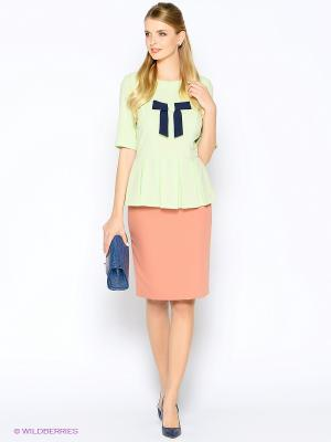 Блузка ARBOR VITAE. Цвет: салатовый
