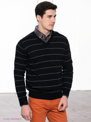 Пуловер Navigare. Цвет: темно-синий, серый