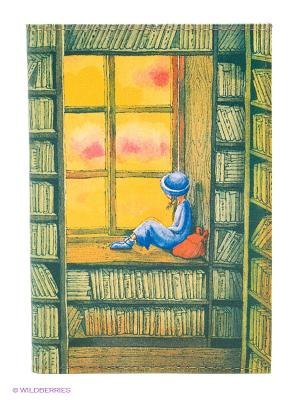 Обложка для автодокументов В библиотеке Mitya Veselkov. Цвет: темно-зеленый, желтый, синий