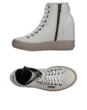 Высокие кеды и кроссовки RUCO LINE. Цвет: бежевый