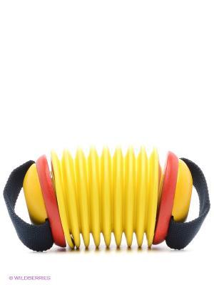 Музыкальная гармошка PLAN TOYS. Цвет: желтый