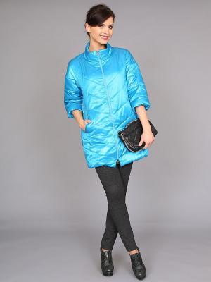 Куртка nasha. Цвет: голубой