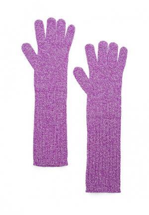 Перчатки Max&Co. Цвет: фиолетовый