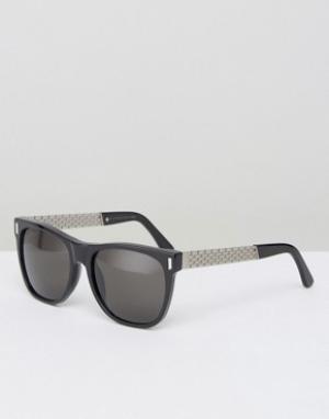 Retrosuperfuture Классические солнцезащитные очки Francis. Цвет: черный