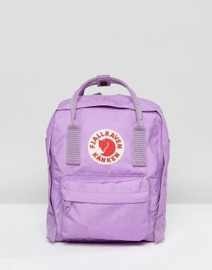 Fjallraven Маленький рюкзак. Цвет: фиолетовый