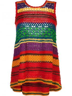 Tulum knitted top Spencer Vladimir. Цвет: многоцветный