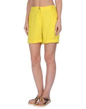 Пляжные брюки и шорты TWIN-SET Simona Barbieri. Цвет: желтый