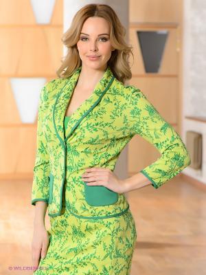 Жакет Vaide. Цвет: салатовый, зеленый