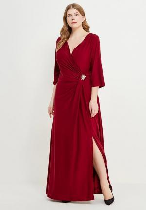 Платье Svesta. Цвет: бордовый
