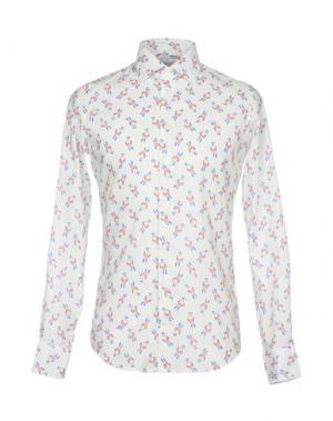 Pубашка RICHARD JAMES. Цвет: слоновая кость