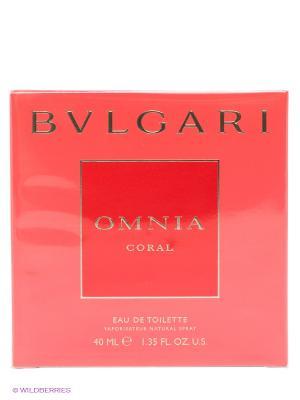 Туалетная вода Bvlgari Omnia Coral, 40 мл.. Цвет: прозрачный