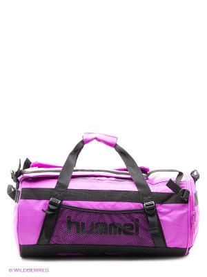 Сумка TECHNICAL SPORTS BAG-M HUMMEL. Цвет: фиолетовый