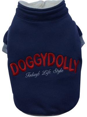 Толстовка Doggy Dolly. Цвет: синий