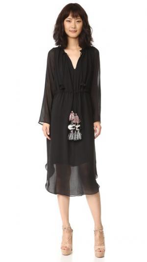 Платье Tanaz MISA. Цвет: оникс