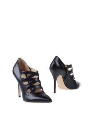 Ботинки FEDERICA STELLA. Цвет: черный