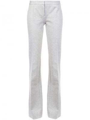 Расклешенные брюки Derek Lam. Цвет: серый