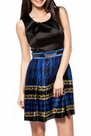 Платье Gizia. Цвет: черный